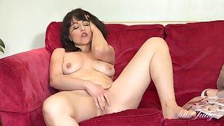 Lucy Masturbates To Her Husbands Hidden Porn Mag