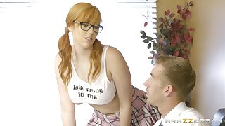 Lauren Phillips is a faux schoolgirl overrun close by dirty day-star