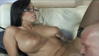 Mom forth stockings Veronica Rayne fucking be required of cum - Obese fake tits