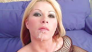 Hot arse blonde chick Brooke Haven gets fucked in will not hear of tight bum