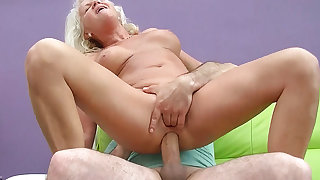 sexy 73 years old mom first big cock anal fuck