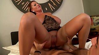 Incredible pornstar Laura Orsoia in horny blonde, facial porn movie