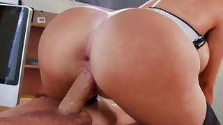 Big tits milf severe try out with a hungry cock