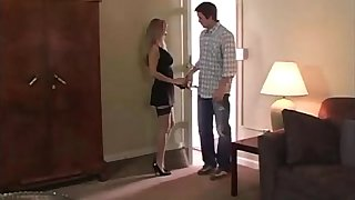 HotWifeRio Mature hottie gives young stud the best time of his life
