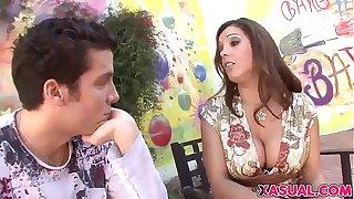 Lovely MILF Francesca Le Likes Young Cocks