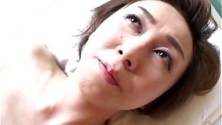 Sultry Japanese MILF Tastes Some Hard Pounding Sex