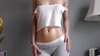 Fit Girl Masturbation Orgasm Continue on MyCyka com