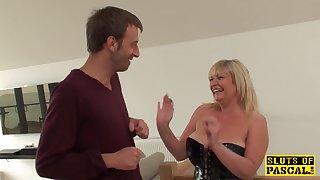 Overprotect British Sub Gets BDSM Coitus Humiliation