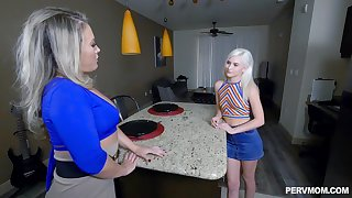 Kiara Cole and Carmen Valentina are ready to share friend's pecker