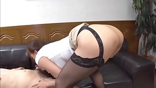 Big ass Japanese unreserved deals lover's dick of a piece with a pro
