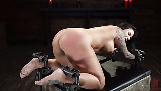 Vest-pocket-sized Ivy Lebelle's hardcore S&M torture nightmare came true