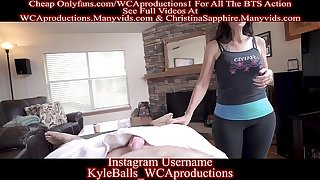 Massage From My Girlfriends Hot Mom Affixing 1 Christina Sapphire