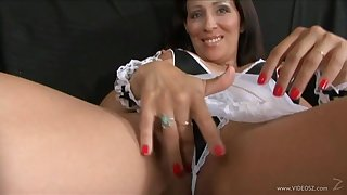 Anal milf hottie gets fucked in a hot blowjob and bang action