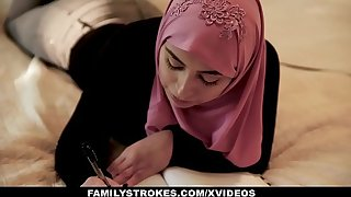 FamilyStrokes - Pakistani Spliced Rides Flannel With Hijab