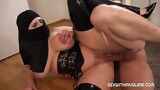 Sex With Busty Muslim Girl relating to Hijab And X Lingerie