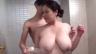 Strong hardcore sex be required of the busty mature Japanese mom