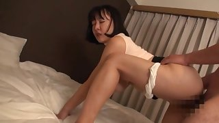 Sexual delight with the curvy ass Japanese mom