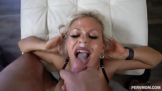 Hardcore fucking just about doggystyle with facial for Cashca Akashova