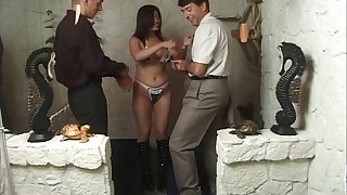 German matured get hitched loves to regard fucked by two unsettle hard peckers