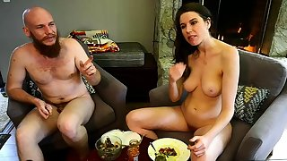 Ricochet boundary obese boobs brunette welcomes obese cock in ass